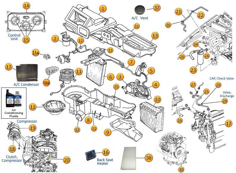 17 best images about jeep liberty kj parts diagrams jeep liberty kj a c heating parts morris 4x4 center
