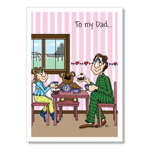 Father's Day Card for Dad or Dad's Birthday by YoYoGreetings