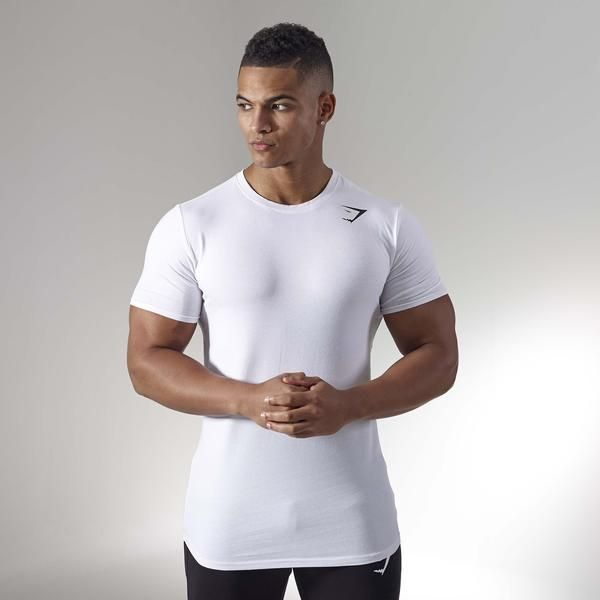 668baa1b901ed3 The Gymshark Ark T-shirt is part of our essential Ark range. A fitted  workout t-shirt with no nonsense design and a simplified fit for a refined  look.