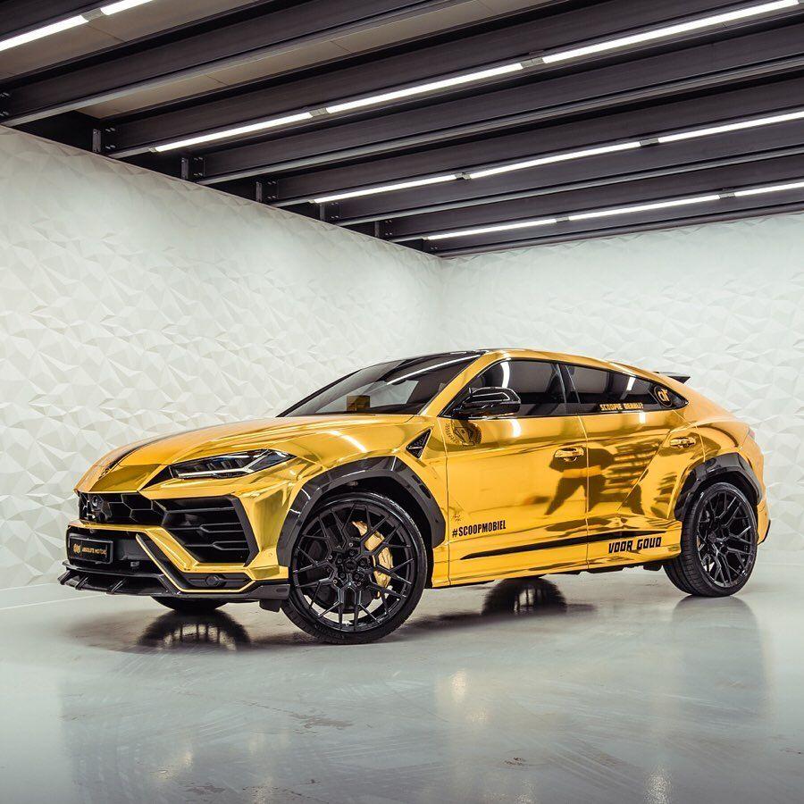 Lamborghini Lambo Urus Auto Car Cars Joel Beukers Gold Golden Gouden Suv V8 Supercar Sportcar Lamborghiniurus Lambo Ssuv V8 Twinturbo B In 2020 Auto