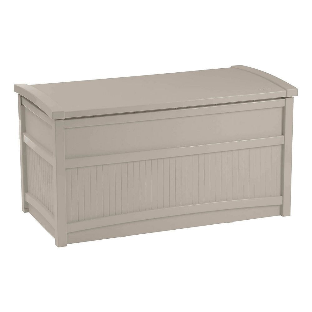 Suncast gallon storage box outdoor storage boxes and products