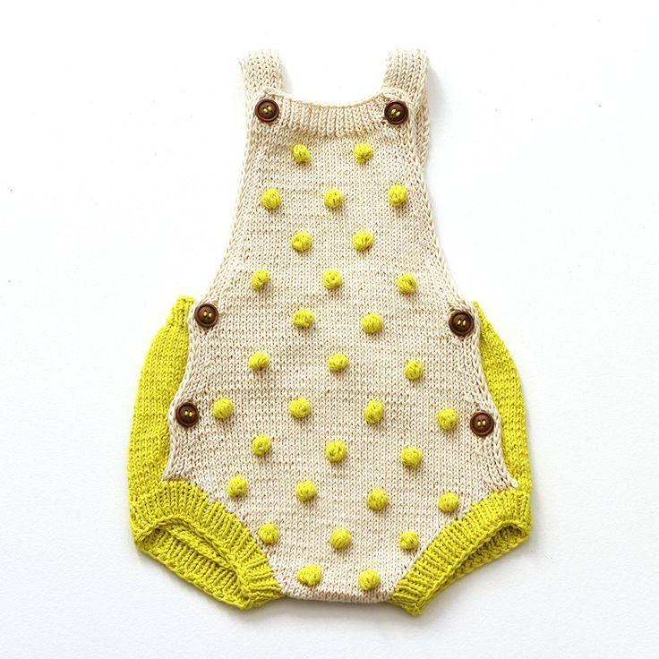 Polka Dotted Textured Handmade Sweaters The Best Kalinka Kids