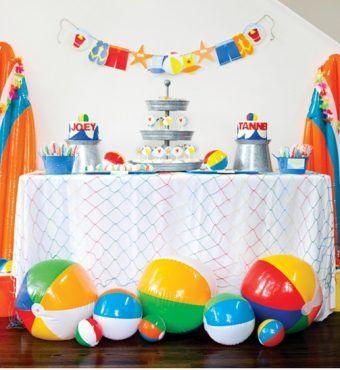 Fiestas infantiles 63 ideas de cumplea os splash for Ideas para cumpleanos en piscina