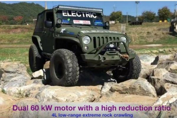 Electric Jeep Wrangler Jeep Jeep Wrangler Monster Trucks