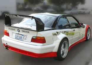 Mashaw Bmw Body Parts Wings Ltw Wing E36 E46 Carbon Fiber Hoods And