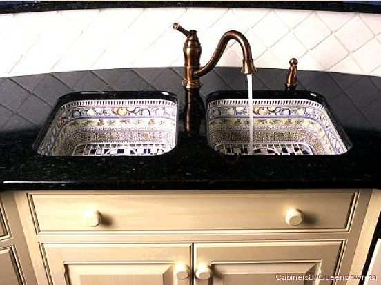 mexican talavera painted pattern twin kitchen sinks 64th street in 2019 sink kitchen. Black Bedroom Furniture Sets. Home Design Ideas