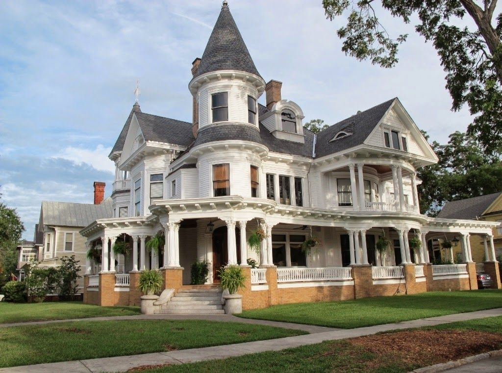Wrap Around Adobe Homes, Victorian House Plans With Porches .