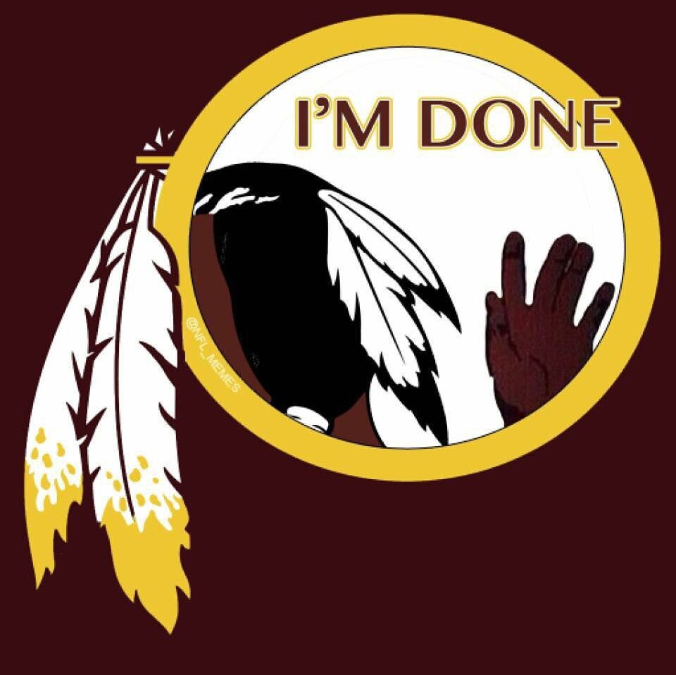 New Washington Redskins Logo 2015 Nfl Humor Pinterest Cowboys
