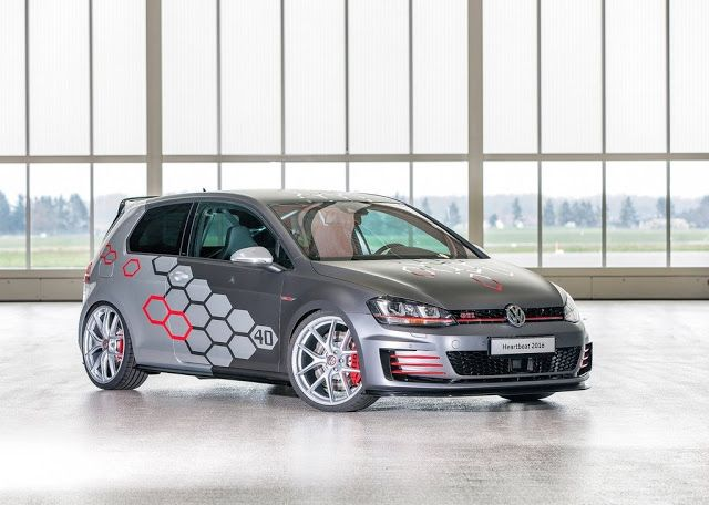 Autonewcarsblog 2016 Volkswagen Golf Gti Heartbeat Concept
