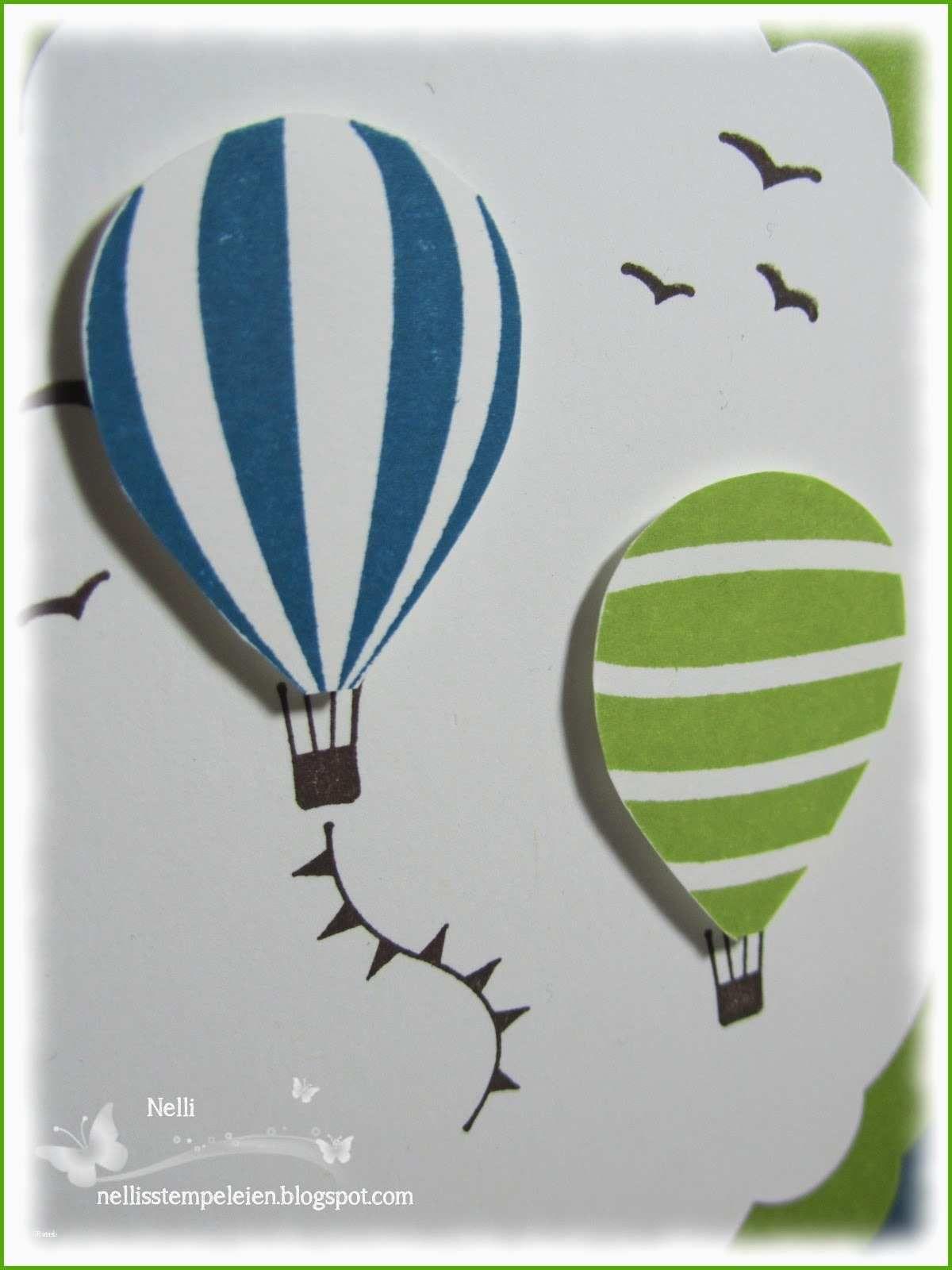 Spinning 3d Hot Air Balloon Craft For Kids 8