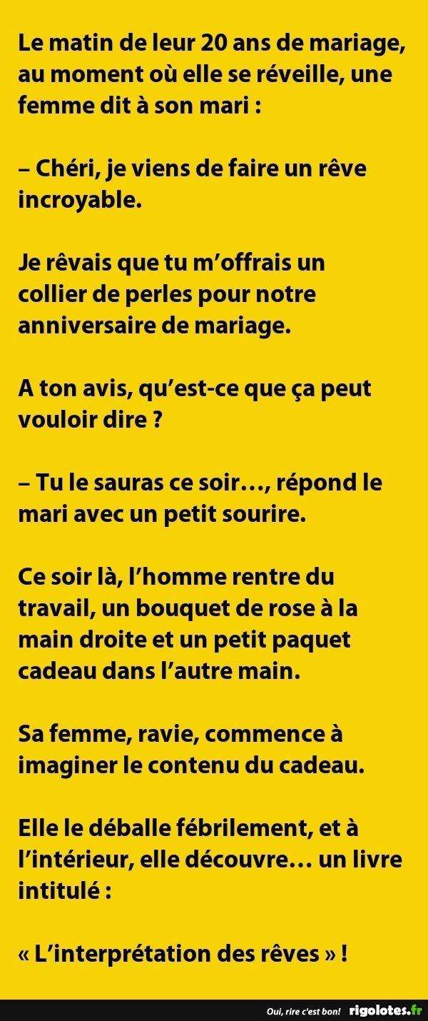 Le Matin De Leur 20 Ans De Mariage Au Moment Où Elle