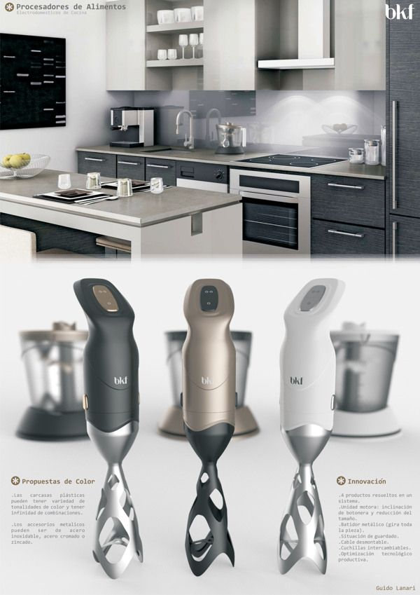 This product mockup of various kitchen appliances is very