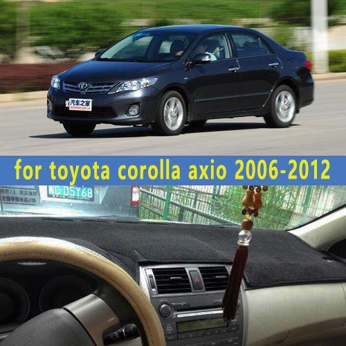 Dashmats Car Styling Accessories Dashboard Cover For Toyota Corolla Axio E140 E150 2006 2007 2008 2009 2010 2011 20 Toyota Corolla Interior Accessories Toyota