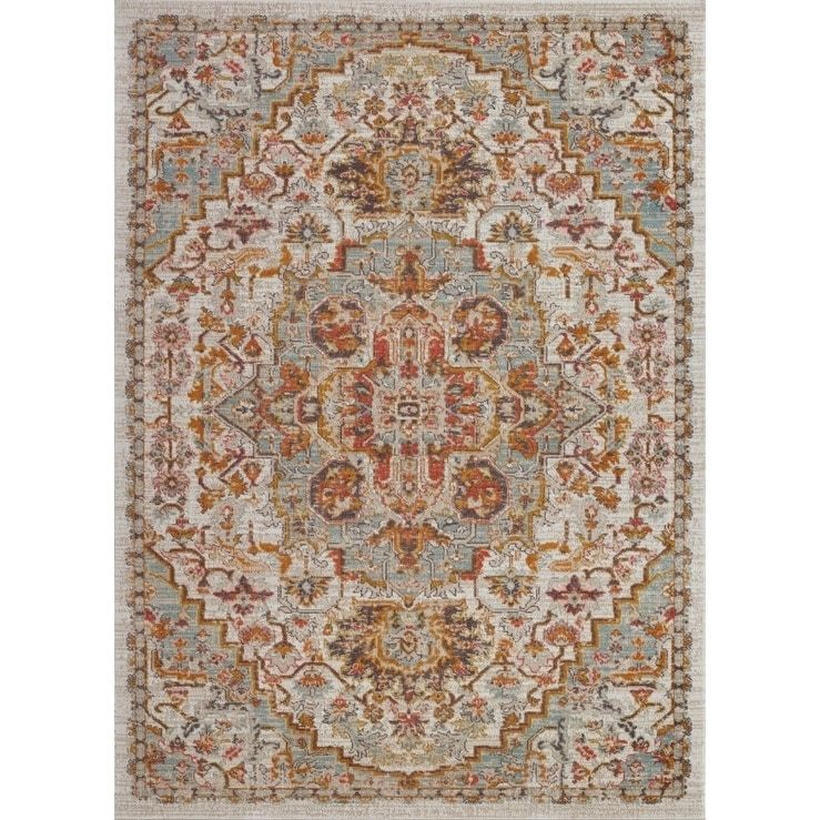 Ladole Rugs Timeless Frieda Vintage Style Mat Cream Beige 1 10 X 2 11 Rugs Rugs On Carpet Beige Area Rugs