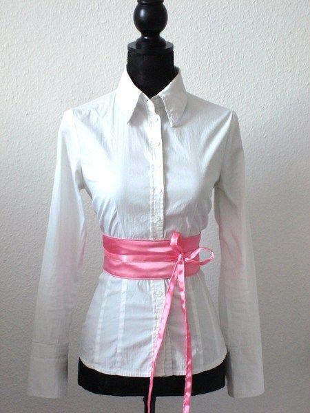 Taillengürtel Schärpe rosa von lucylique - Mode und Accessoires made in Leipzig auf DaWanda.com