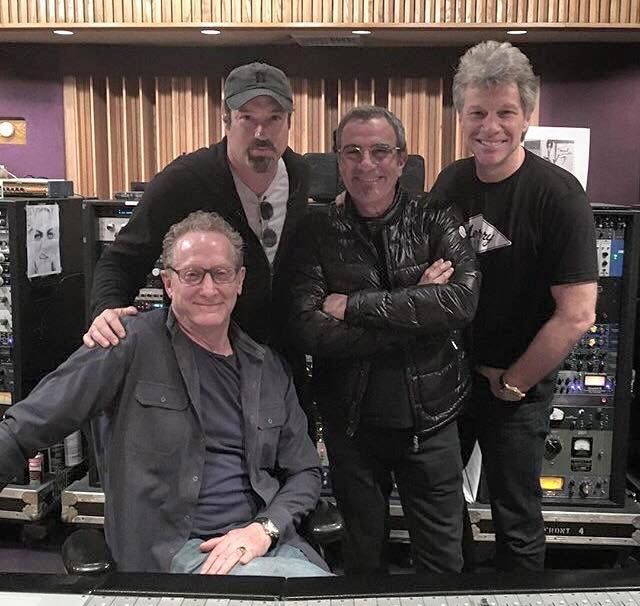 Jon and Tico in the studio with John Shanks in NYC - May 29th 2016 ...