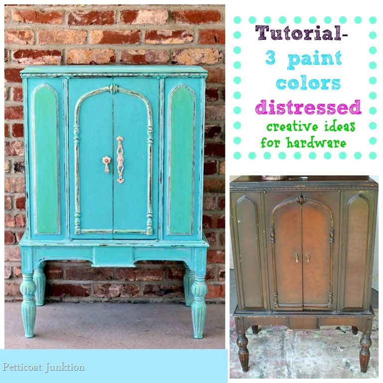 Creative Hardware Ideas and Paint Tutorial For Cabinet | Hardware ...