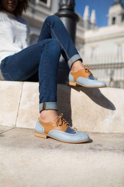 tendance chaussures collection printemps et 2016 les derby pinterest chaussures femme. Black Bedroom Furniture Sets. Home Design Ideas