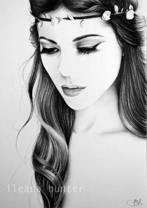 Untitled Beautiful Girl Sketch Girl Face Drawing Pencil Drawings