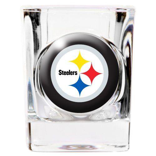 Pittsburgh Steelers 2 ounce Square Shot Glass Caseys http://www.amazon.com/dp/B001BEL2AG/ref=cm_sw_r_pi_dp_N-jRub19S2S5R