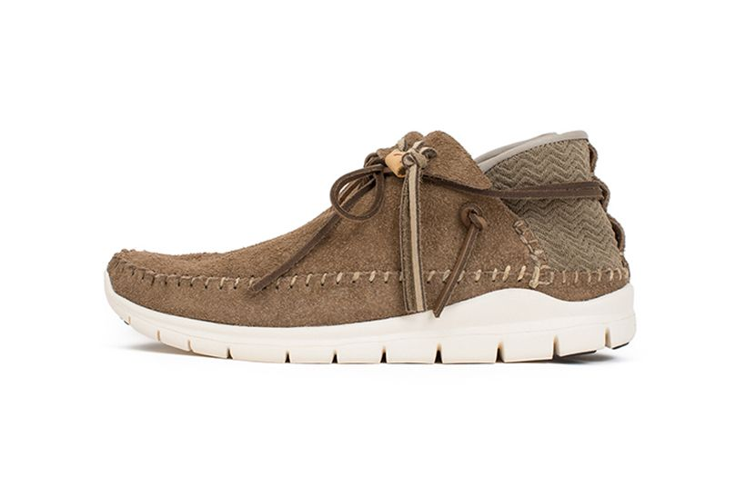 Brown Folk Trainer Moccasins Visvim 8fagUNz1S