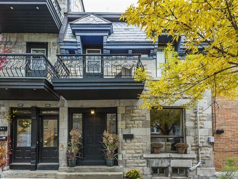 Maison à vendre à Le Plateau-Mont-Royal (Montréal), Montréal (Île) - 889 000 $
