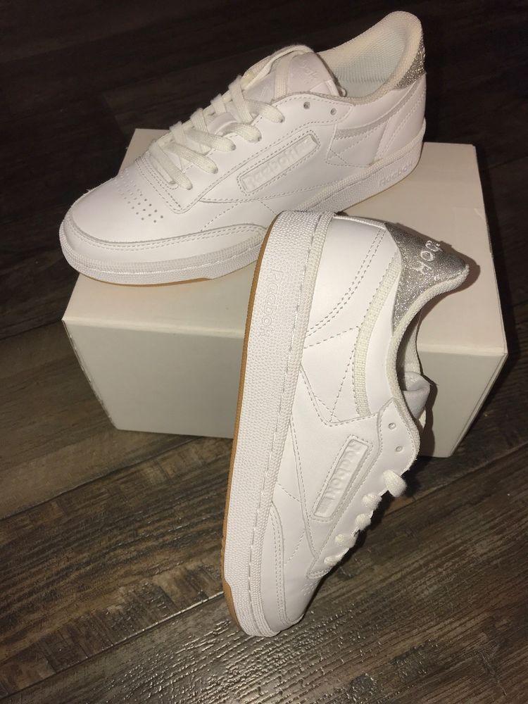 Women s Reebok Classic Leather Metallic Diamond White Gum Shoes Size 7   fashion  clothing  shoes  accessories  womensshoes  athleticshoes  ad  (ebay link) f4d571d9e
