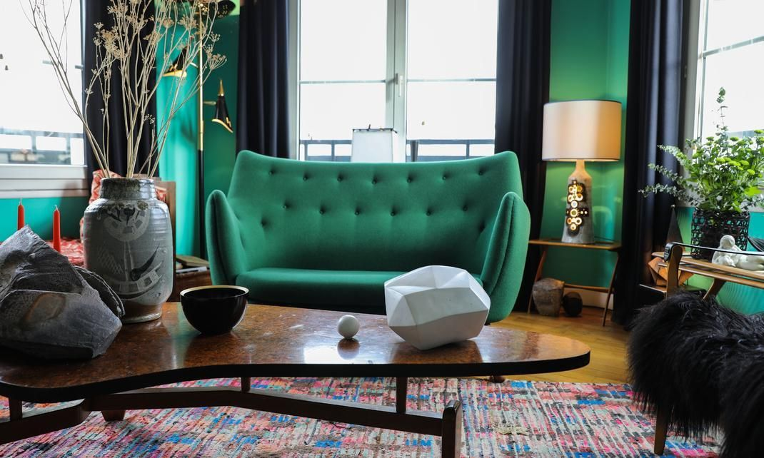 #logocore | green living room decor, trendy living rooms