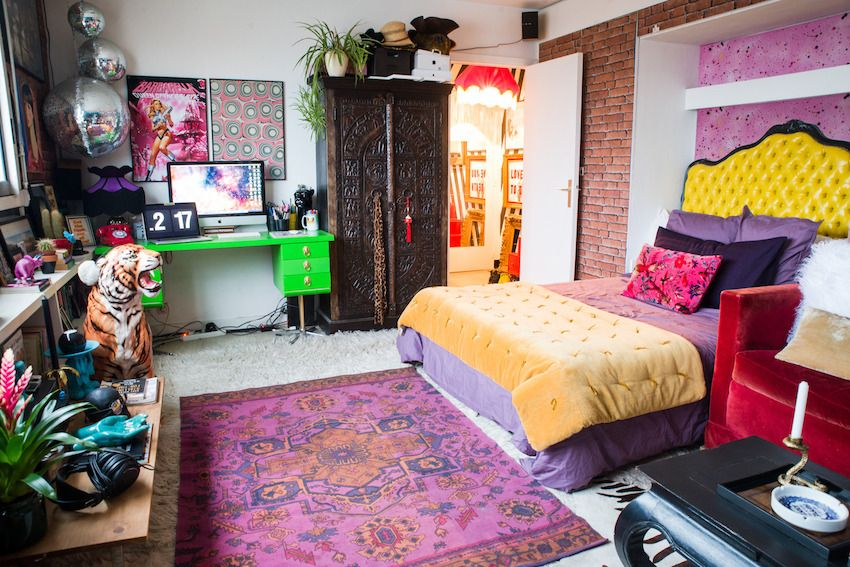 thenordroom: A bold colorful studio apartment in... | Home ...