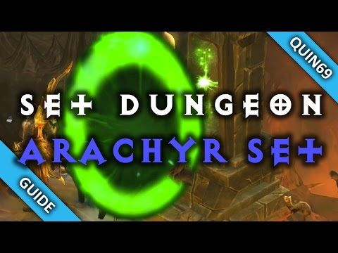 Diablo 3: Set Dungeon - Spirit of Arachyr (Mastery   How To   Patch