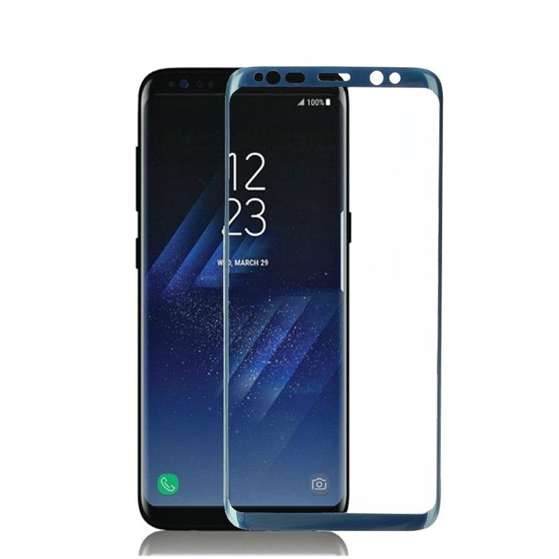 3D Soft Curved Edge Full Screen Coverage Tempered Glass Screen Protector For Samsung Galaxy S8/S8 Plus