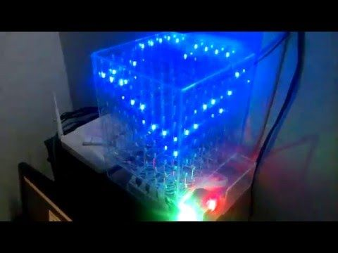 Led Cube 8x8x8 Cube Arduino And Electronics Projects