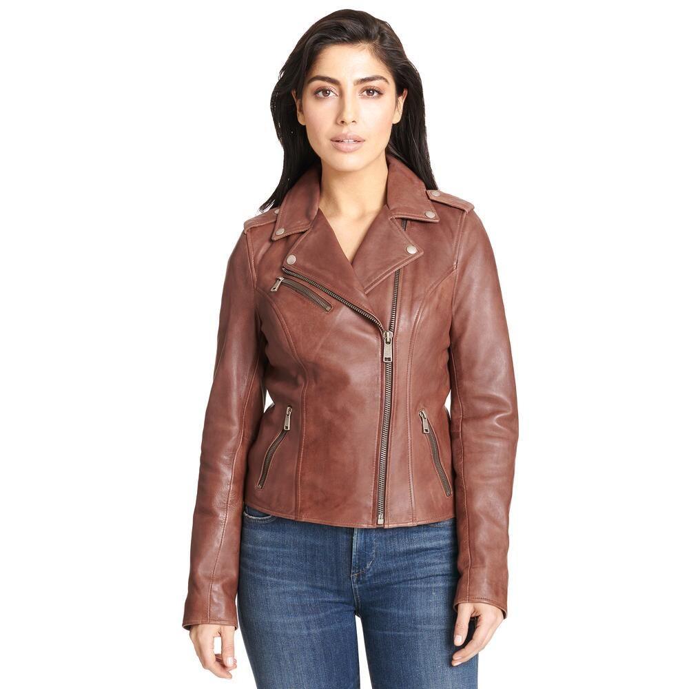 Wilsons Leather Asymmetrical Leather Jacket W Snap Details 299 99 Our Price Asymmetrical Leather Jacket Leather Outerwear Leather Jacket [ 1000 x 1000 Pixel ]