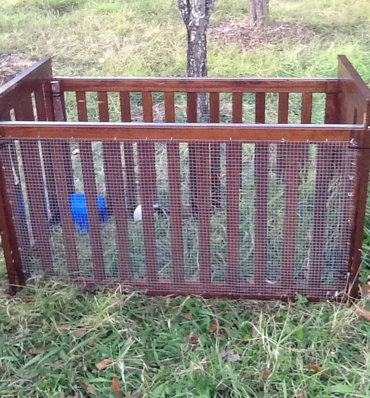 Upcycled Guinea Pig Hutch