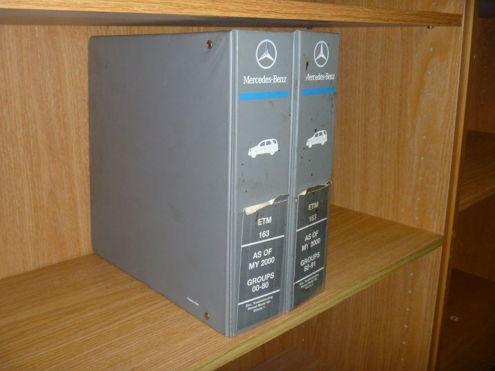 2000 mercedes benz ml320 ml350 ml430 ml500 ml55 electrical wiring diagram  manual