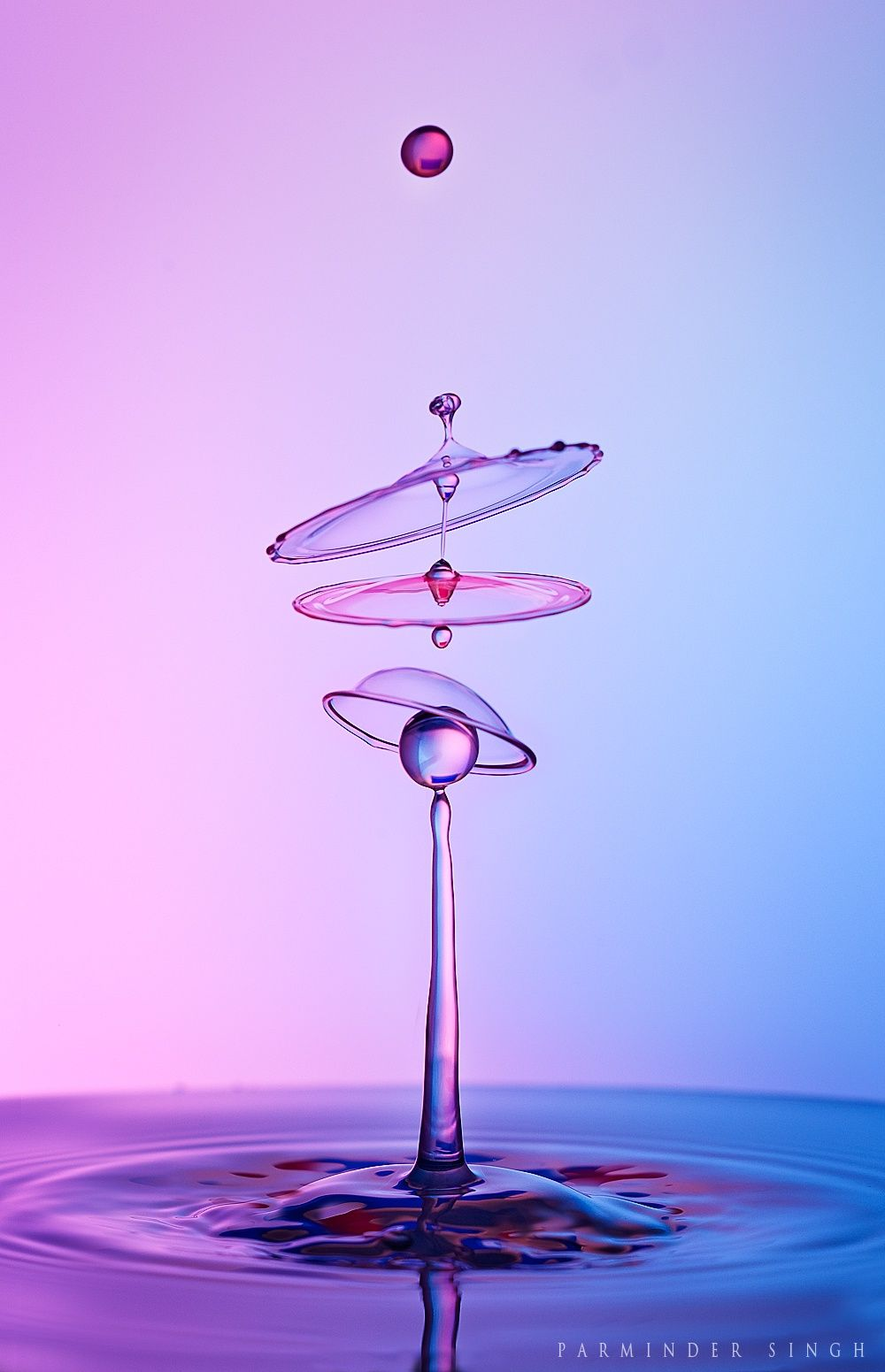 water drop by parminder singh / 500px