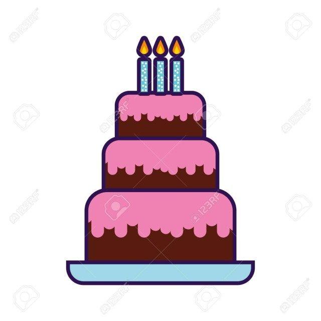 27 Pretty Image Of Birthday Cake Graphic Cute Cartoon