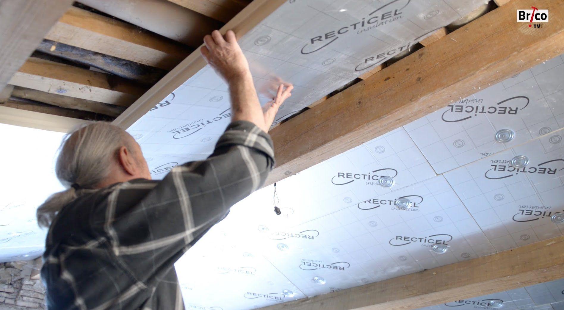 isoler les combles avec des panneaux de polyur thane. Black Bedroom Furniture Sets. Home Design Ideas