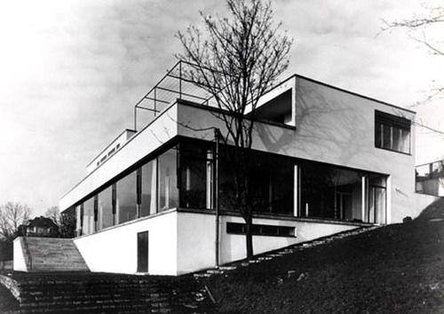 villa tugendhat czech republic 1930 ludwig mies van der rohe architecture arquitectura. Black Bedroom Furniture Sets. Home Design Ideas