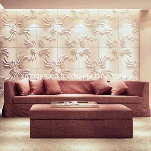 Acoustic Panel Accent Wall Media Room: Art Modern Soundproofing 3D Wall Panel For Sofa Background