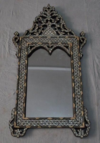 Syrian Home Deco Things To Live With Mirror Wood Framed Mirror