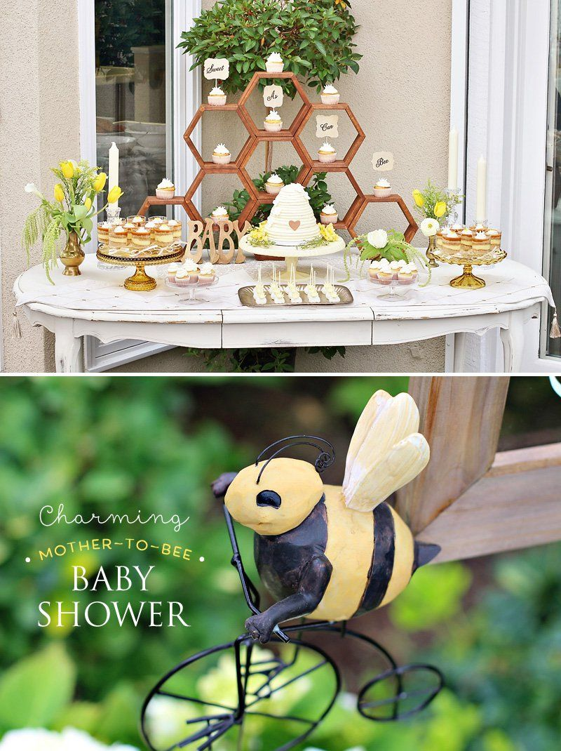 Exceptional Charming Mother To Bee Baby Shower {Vintage Style}