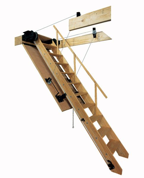 Bessler Folding Attic Stairs Model 100 Attic Stairs For