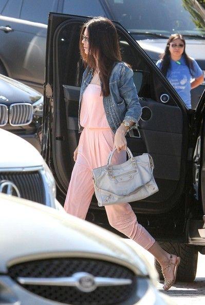 Kendall Jenner Jean Shorts - Kendall Jenner Looks - StyleBistro