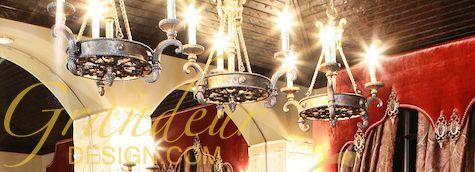 Lighting trio fixture Grandeur Design grandeurdesign.com