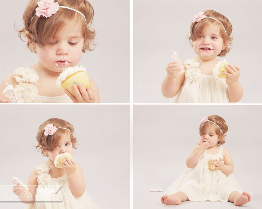 Toddler Photography | Cake Smash | Giuliana » Portraits By Michelle