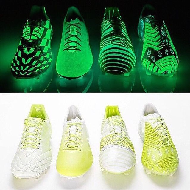 adidas glow in the dark shoes football