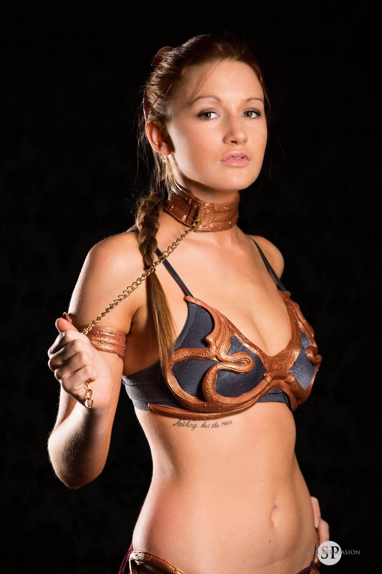 Pin on Star Wars (Slave Leia)