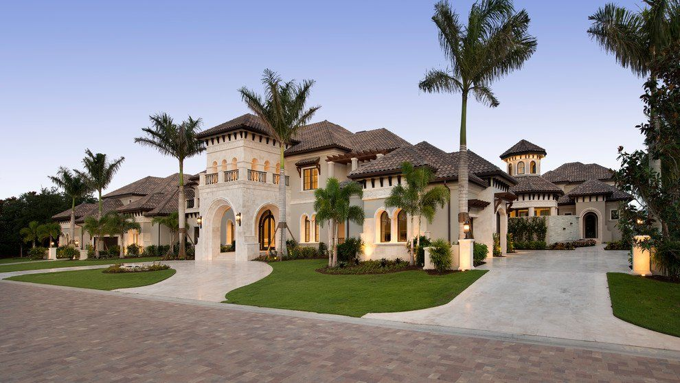 17 Glorious Mediterranean Exterior Designs That Will Take Your Breath Away Mediterranean Homes Exterior Mediterranean Homes House Designs Exterior