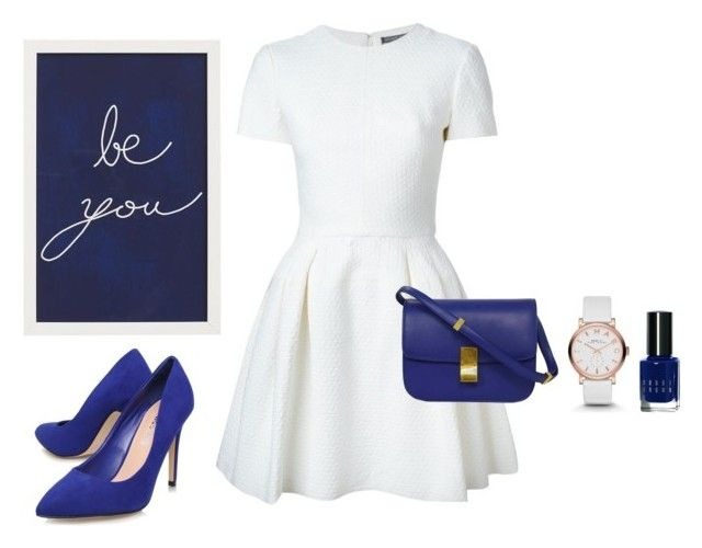 """White dress"" by monika1555 on Polyvore"